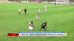 Terrible patada en el pecho en la cuarta división argentina
