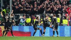 Champions League (cuartos/vuelta): Resumen y goles del Juventus 1-2 Ajax
