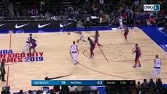 Doncic se atreve a imitar uno de los mates más famosos de la NBA