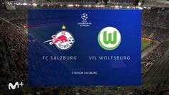Champions League (Jornada 3): Resumen y goles del Salzburgo 3-1 Wolfsburgo