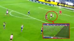 Era uno de los golazos en la carrera de Morata pero lo anuló el VAR: ¿estaba en fuera de juego?