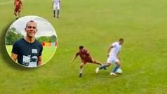 Es un ex del Barça que se resiste a dejar el fútbol: intratable en las pachangas