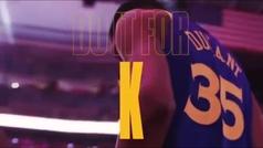 """""""Hazlo por Kevin"""": el emotivo homenaje de los Warriors a Durant"""