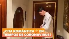 La original cita romántica a distancia de Jesús Tortosa en tiempo de coronavirus