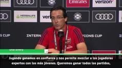 """Emery, tras derrotar al Bayern: """"Ganar no es ahora lo importante"""""""