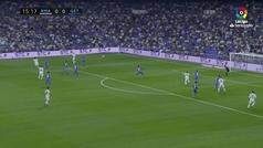 Bale estrelló un cabezazo en el larguero a centro de Marcelo