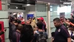 Chivas agita el Aeropuerto Internacional de la CDMX
