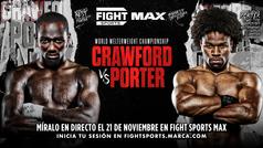 Crawford vs Porter World Welterweight Championship 21/11/2021