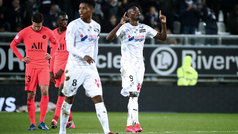 Los goles del Amiens 4-4 PSG