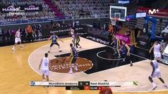 Liga ACB: resumen Andorra 69-75 Real Madrid