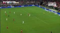 ¡Qué media vuelta! así fue el golazo de Lewandowski al Real Madrid