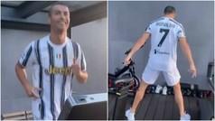 """De """"la PCR es una mierda"""" al grito de Cristiano antes de la Juventus"""