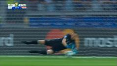 Armani: de casi ser expulsado a parar un penalti salvador para Argentina