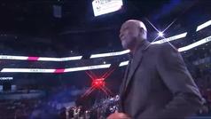 El momentazo del All Star: Jordan saltó a la cancha el día de su cumpleaños