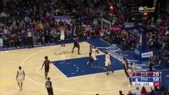 El mejor Ben Simmons jamás visto en la NBA: 34 puntos y... ¡segundo triple!