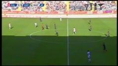 Vinícius forzó el penalti del empate del Castilla... pero lo tiró Javi Sánchez