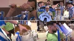 La genial imitación de Jesús Vidal por Elustondo... ¡mientras la Real hace un Gin Tonic en la Copa!