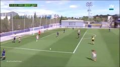Golazo de Sheila García en la Ciudad Deportiva de Buñol