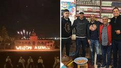 El recibimiento en Marruecos a la familia Asensio