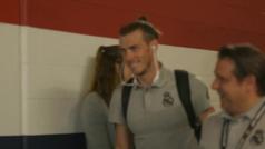 ¡Así salió del estadio! La eterna sonrisa de Bale tras el mensaje de Zidane