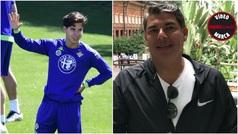 "Mauro Lainez, en MARCA Claro: ""Diego Lainez está muy feliz en el Betis"""