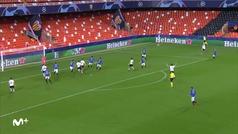 Gol de Gameiro (2-2) en el Valencia 3-4 Atalanta