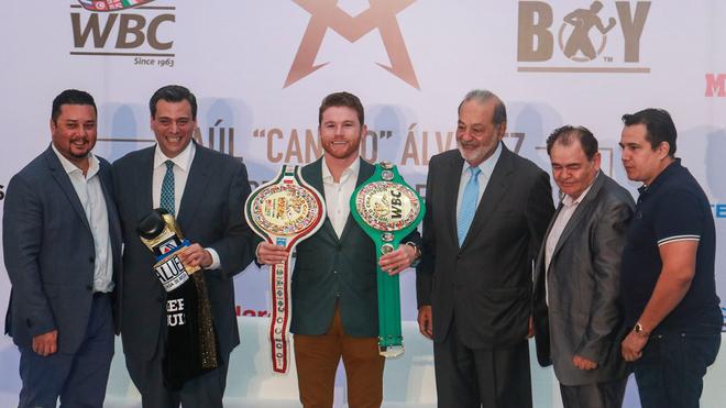 'Canelo' Álvarez asegura que no busca compararse con ningún campeón