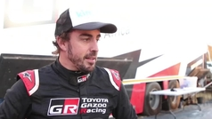 Alonso tendrá de copiloto a Coma y con él disputa ya la Lichtenburg 400