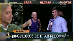 """La emoción de Alfredo Duro al dedicarle el combate a su hermana: """"Ella derrotó a la muerte"""""""