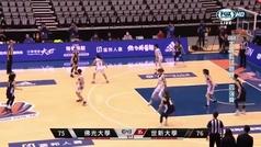 Tres segundos, sola ante la canasta y... ¡el final más dramático en el baloncesto!