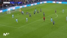 Gol de Gabriel Jesús (6-3) en el Manchester City 6-3 Leipzig