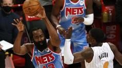 Un histórico Harden hace soñar a los Nets: ¡Triple-doble y victoria en su estreno!