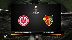 Europa League (octavos, ida): Resumen y goles del Eintracht Frankfurt 0-3 Basilea