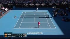 Nadal arrolla a Carreño (6-1, 6-2, 6-4) para meterse en octavos del Open de Australia