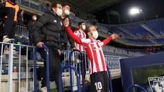 """Así vivió el banquillo del Athletic la victria ante el Madrid: """"Me voy a morir, humo, pita ya..."""""""