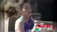 Drama en una maratón en Japón: la primera clasificada, exhausta, no sabe el camino y se da la vuelta