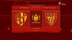 MX: Copa del Rey (1/16, vuelta): Resumen y goles del Huesca 0-4 Athletic