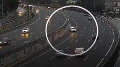 Accidentes de tráfico captados por las cámaras de la DGT: dos en un minuto