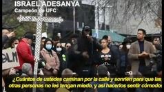 """Israel Adesanya:""""Si pudiera elegir seguiría siendo negro"""""""