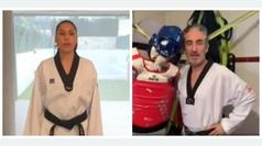 Los maestros del taekwondo piden a todos que nos quedemos en casa