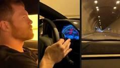 El boxeador 'Canelo' Álvarez se graba conduciendo a más 310 km/h en el túnel de Mónaco