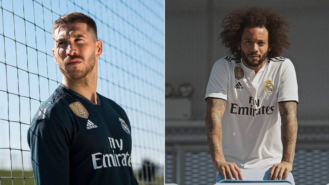Benzema desvela las nuevas camisetas del Real Madrid para la temporada 2018- 2019 598d26ea10528