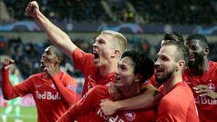 Champions League (Grupo E): Resumen y goles del Genk 1-4 RB Salzburgo