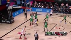 La asistencia de tiralíneas que ha enloquecido a la NBA