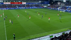 Gol de Iñaki Williams (0-4) en el Huesca 0-4 Athletic