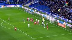 Gol de Naldo (2-1) en el Real Sociedad 3-2 Espanyol