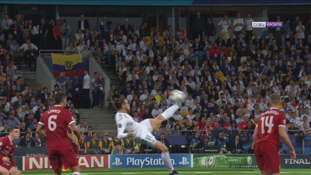 Gol de Bale (2-1) en el Real Madrid - Liverpool