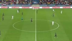 Gol de Timothy Weah en el PSG 3-0 Caen