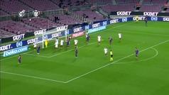Gol de Piqué (2-0) en el Barcelona 3-0 Sevilla