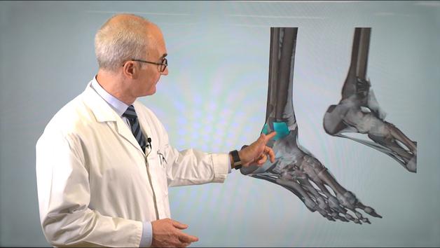 El Dr. Ripoll explica la lesión de tobillo de Vinícius